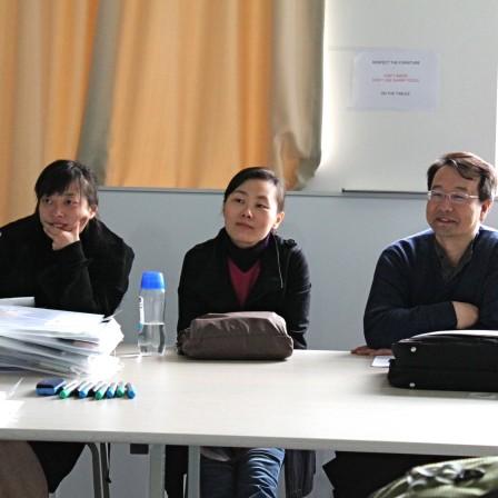 chinese designer at Qingdao uni